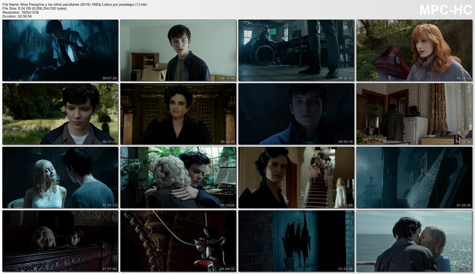 Miss Peregrine (2016) HD 720p Latino captura 1
