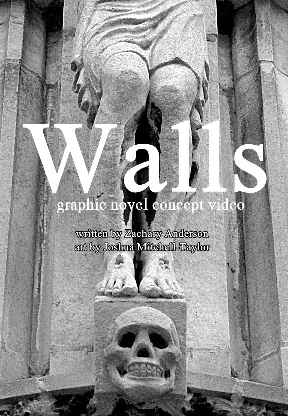 """Walls"" graphic novel concept video (2018)"