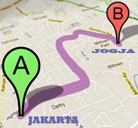 Bis dari Jakarta ke Jogja
