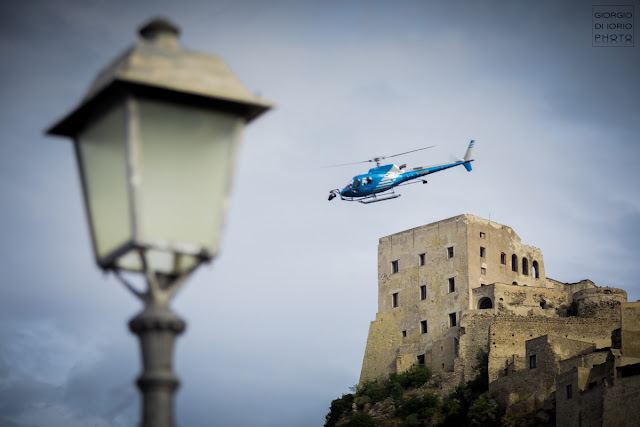 Castello alieno, Castello Aragonese, Chris Hemsworth, Fil a Ischia, Ischia e il cinema, Liam Neeson, Men in Black 4, Men in black 4 riprese a Ischia, Tessa Thompson,