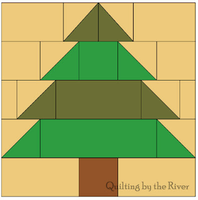 chart for Christmas Tree at Freemotion by the River