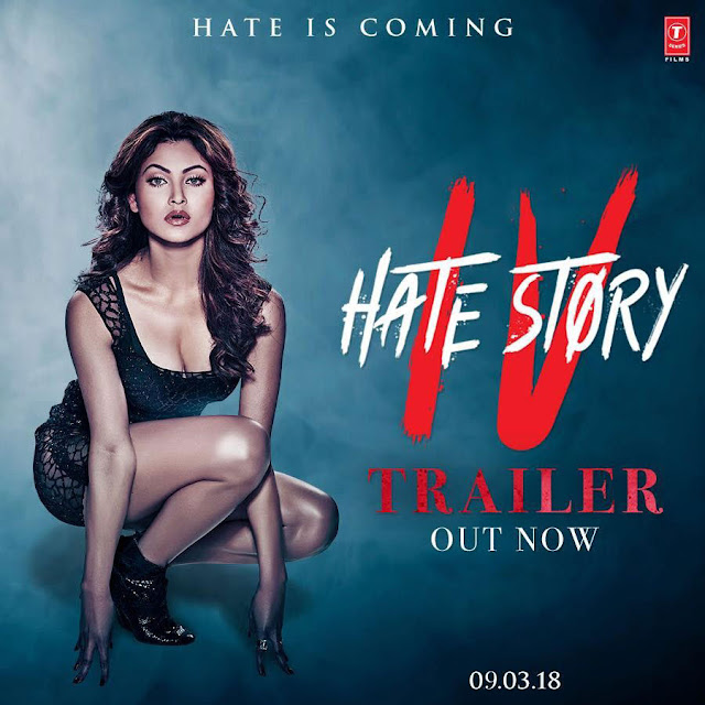 Urvashi Rautela in Hate Story 4 Poster