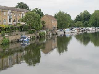 A peaceful river scene