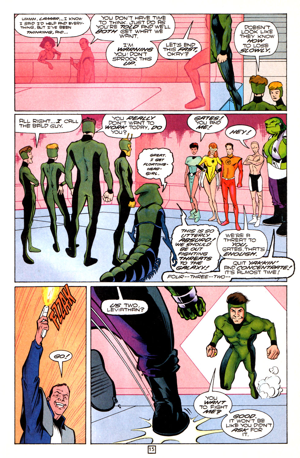 Legion of Super-Heroes (1989) 82 Page 15