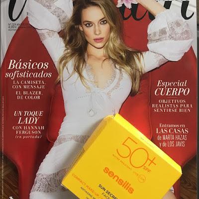 Revistas Woman, Glamour, Abril 2019, sensilis, maquillaje,