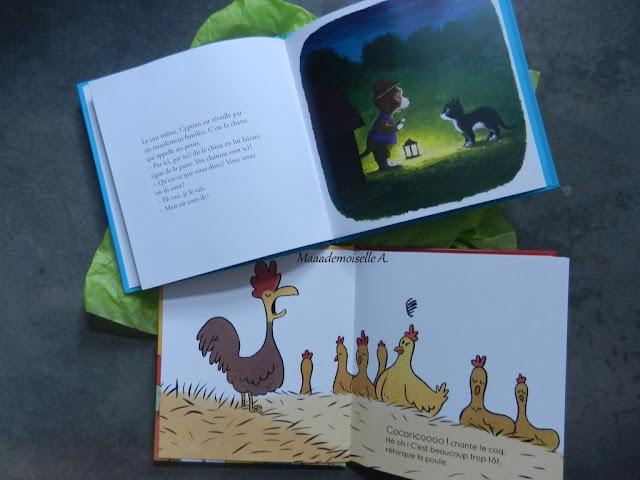 Joyeux anniversaire ! - Idées cadeaux pour une petite fille de 2 ans : Livres Cyprien le Chien et Groloulou à la ferme