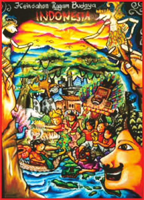 Contoh-Menggambar-Poster-Kebudayaan