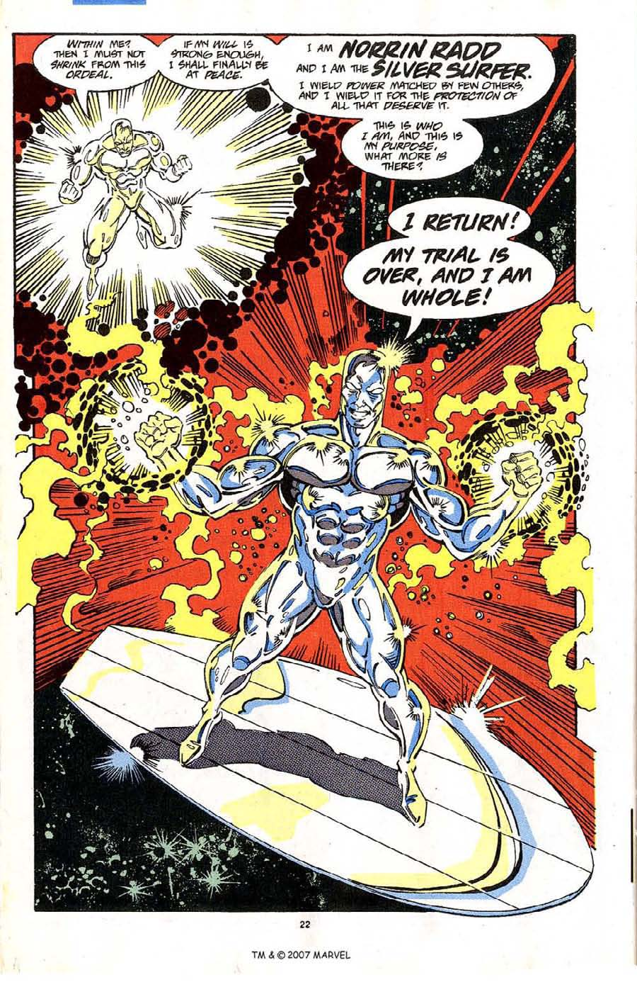 Read online Silver Surfer (1987) comic -  Issue #64 - 24