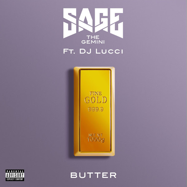 Sage the Gemini - Butter (feat. DJ Lucci) - Single Cover