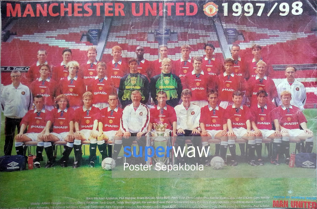 Full Team Manchester United 1997/98