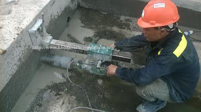 Khoan cắt bê tông tại Sóc Trăng