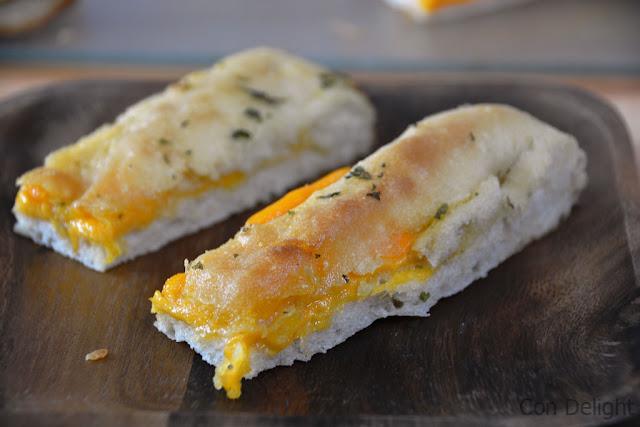לחם שום מעולה perfect garlic bread