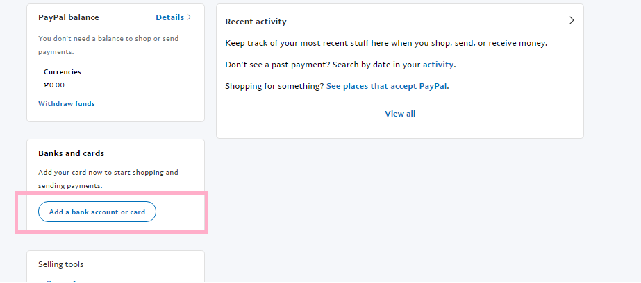 how to unlink a bank on paypal