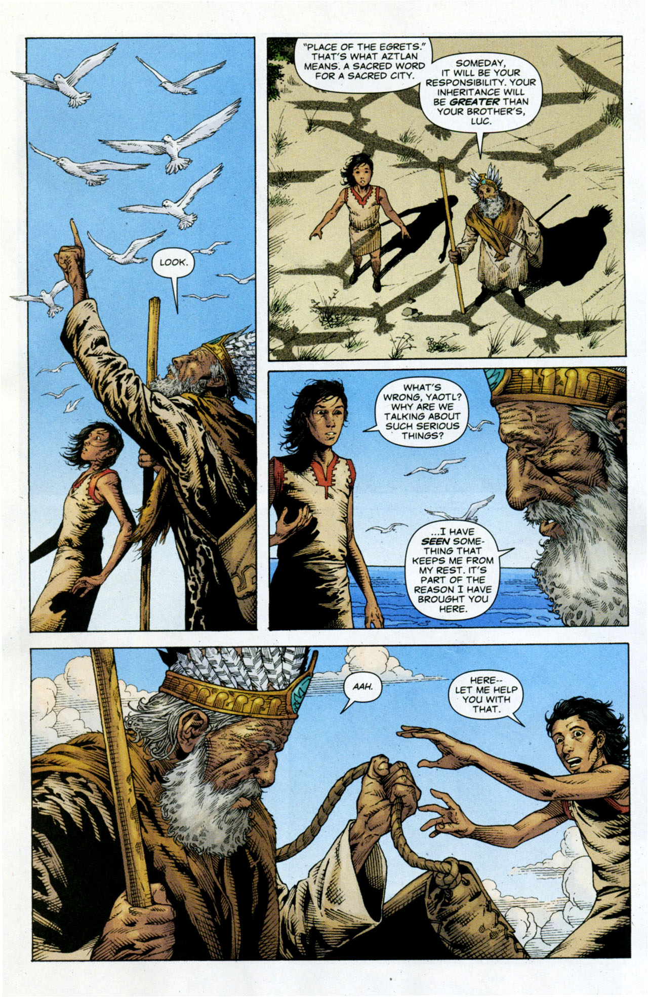 Read online Air comic -  Issue #10 - 6