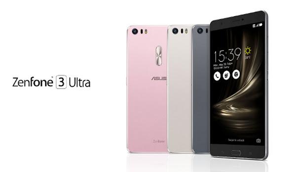 6.8 inç'lik Ekrana Sahip Asus Zenfone 3 Ultra Tanıtıldı