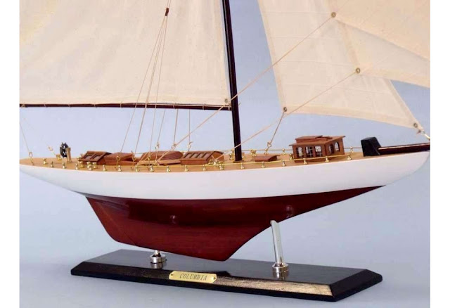 Columbia Sailboat Model