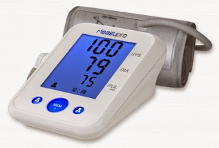 MeasuPro BPM-20A Digital Upper Arm Blood Pressure Monitor/Heart Rate Monitor