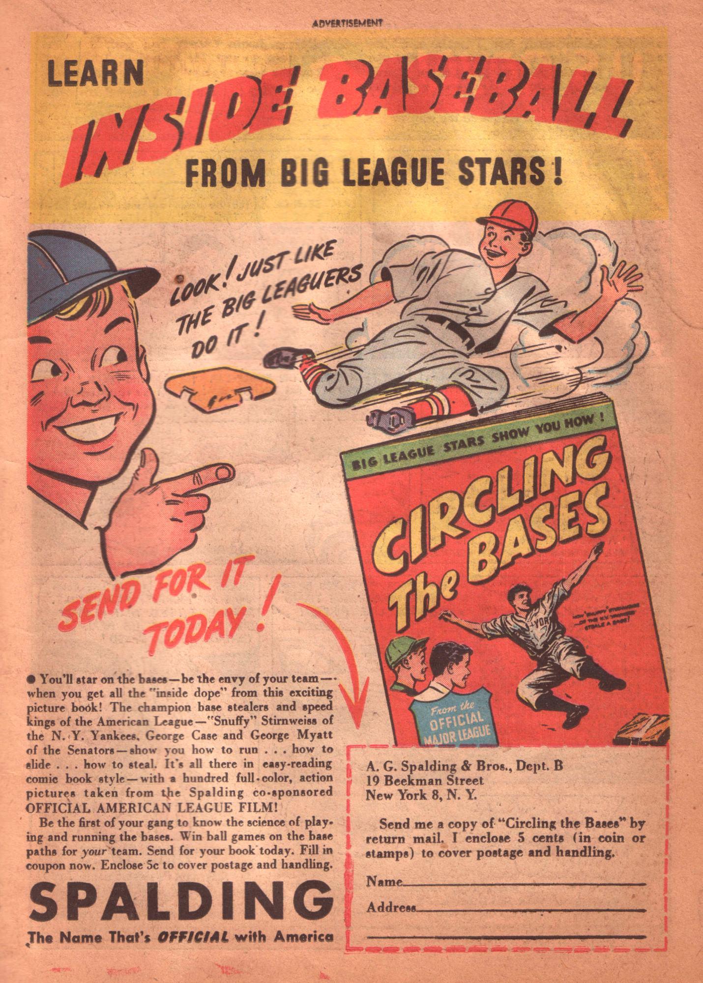 Read online Detective Comics (1937) comic -  Issue #125 - 35