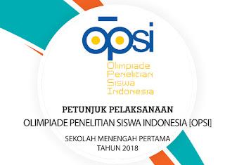 Dalam upaya meningkatkan mutu sumberdaya insan Indonesia semoga bisa bersaing dalam masa  Download Juknis Opsi SMP Tahun 2018