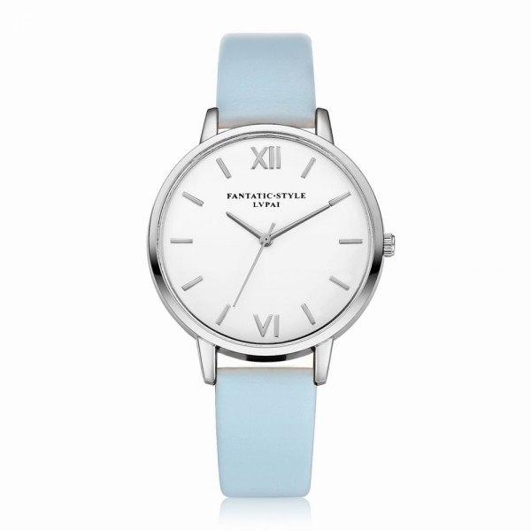 Lvpai P091-S Women Simple Leather Strap Quartz Watches