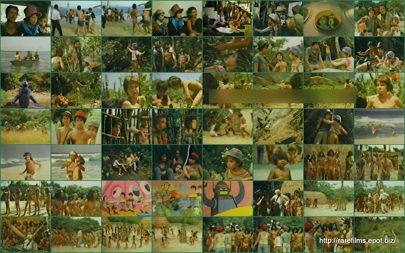 Приключения с дядей Манеко / Aventuras com Tio Maneco / Jorney to an unknown world.  1971.