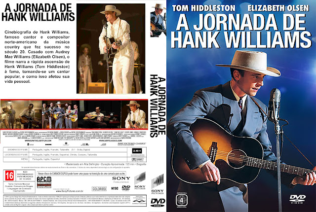 Capa DVD A Jornada De Hank Williams