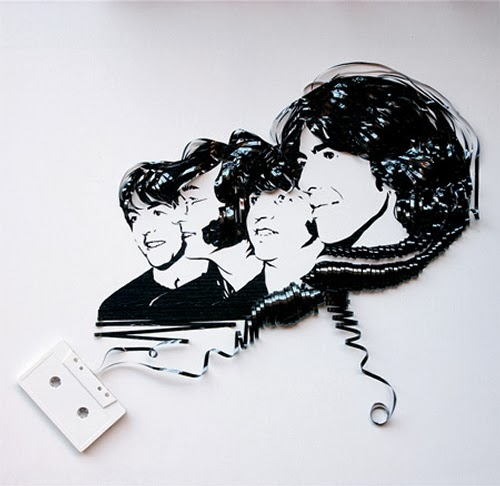 10-The-Beatles-Erika-Iris-Tape-Art-www-designstack-co
