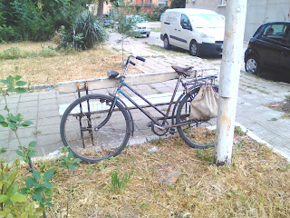 Classic Bicycle, Parked Up, Yambol,