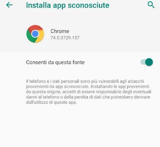 Installa App