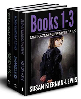 The Mia Kazmaroff Mysteries: Books 1-3 - suspenseful mysteries by Susan Kiernan-Lewis