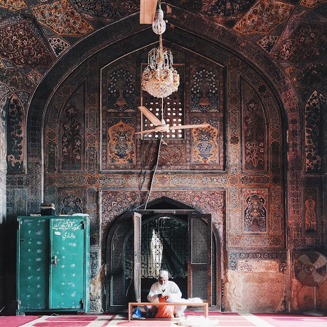 Travel Mosques of Lahore Pakistan Amjad Nawaz