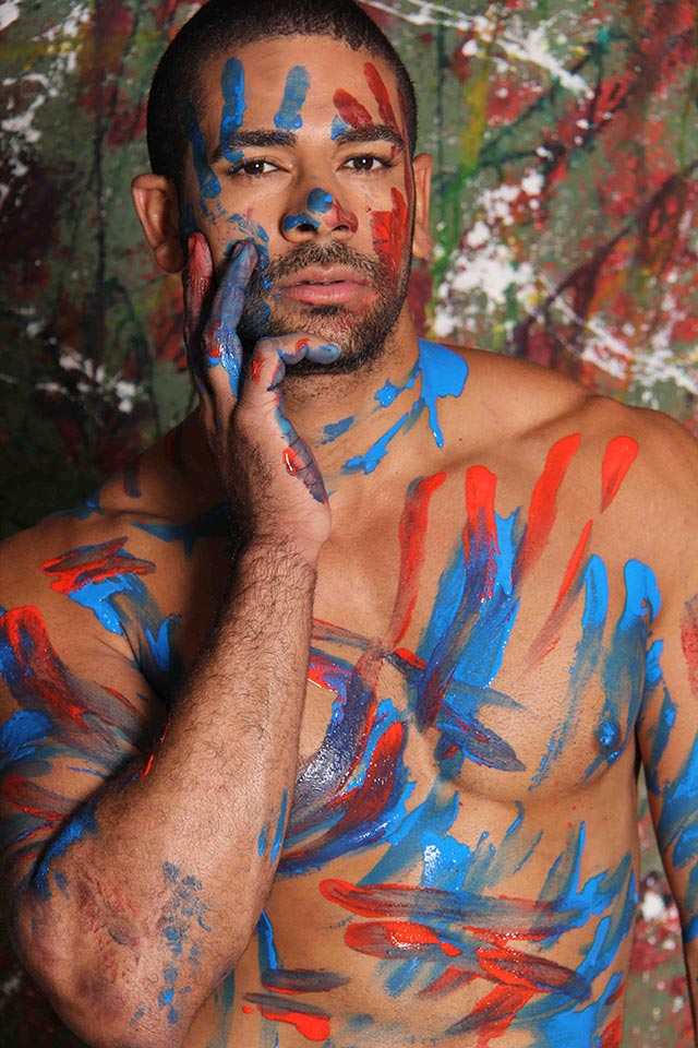 Eryck Ferrasso posa para ensaio sensual. Foto: Jorge Beirigo