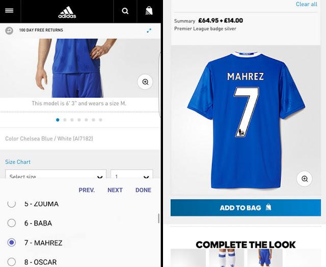 adidas adelante un fichaje del Chelsea a través de las redes