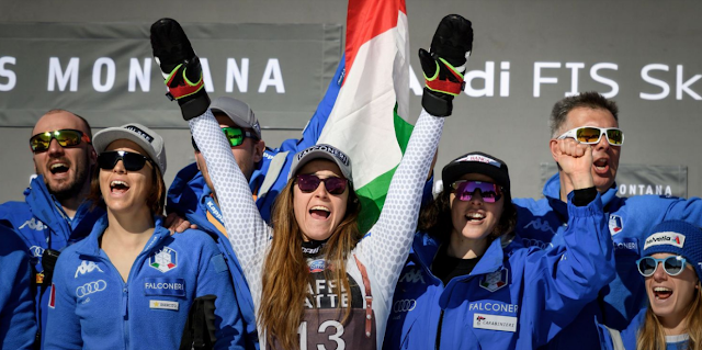Sofia Goggia Wins Downhill in Crans-Montana