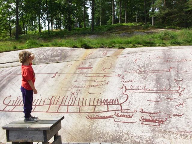 Felszeichnungen in Tanumshede, Schweden- neuesvomschloss