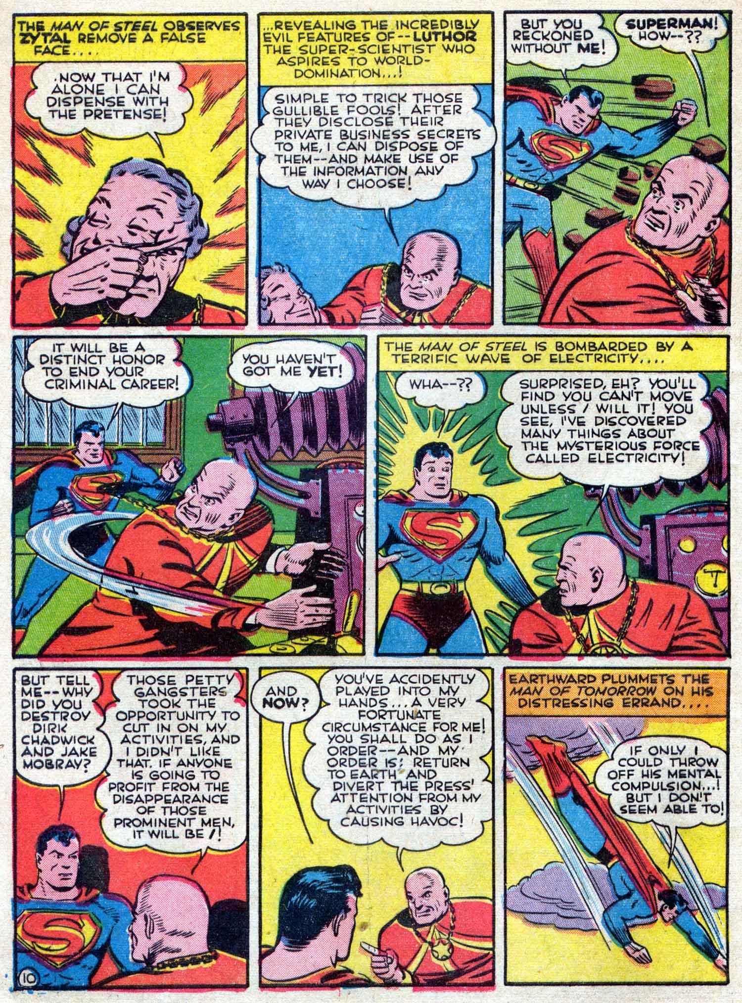 Action Comics (1938) 42 Page 10