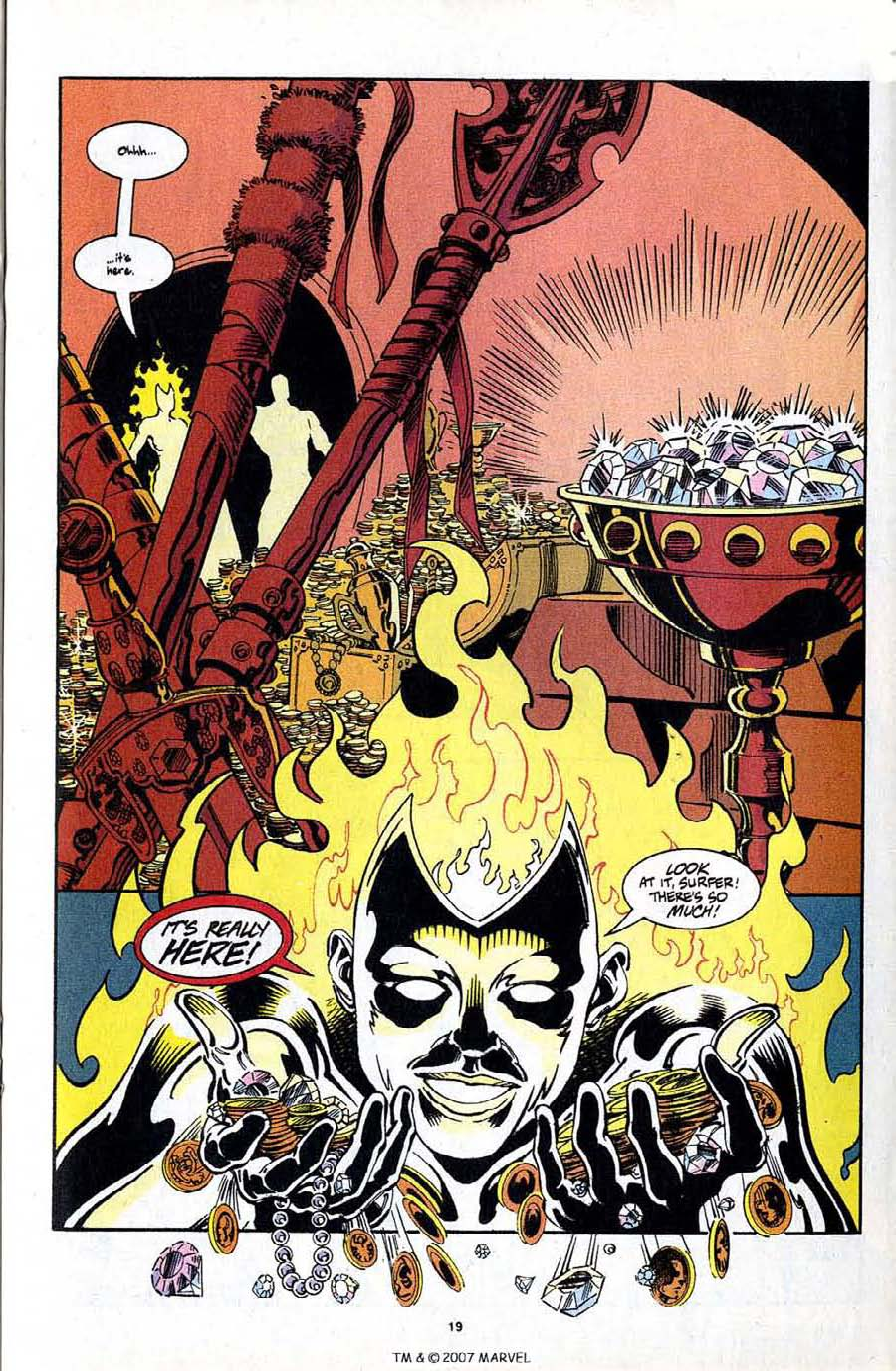 Read online Silver Surfer (1987) comic -  Issue #97 - 21