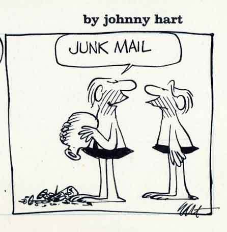 Image result for message in bottle BC johnny hart