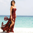 Kareena kapoor in a beach