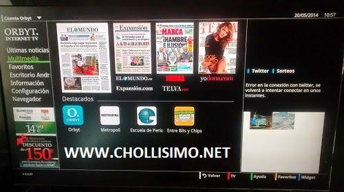Orbyt Smart Tv 4GB + Mando