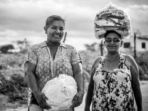 Comunidade sertaneja de Alagoas mais próxima dos alunos-soldados: distribuição de donativos encerra campanha solidária do CFAP