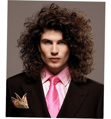 Mens Very Long Hairstyles Curly