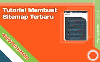 Cara Membuat Sitemap Html
