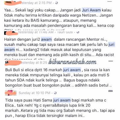 Juri Awam Mentor Milenia 2017 Dikecam Netizen