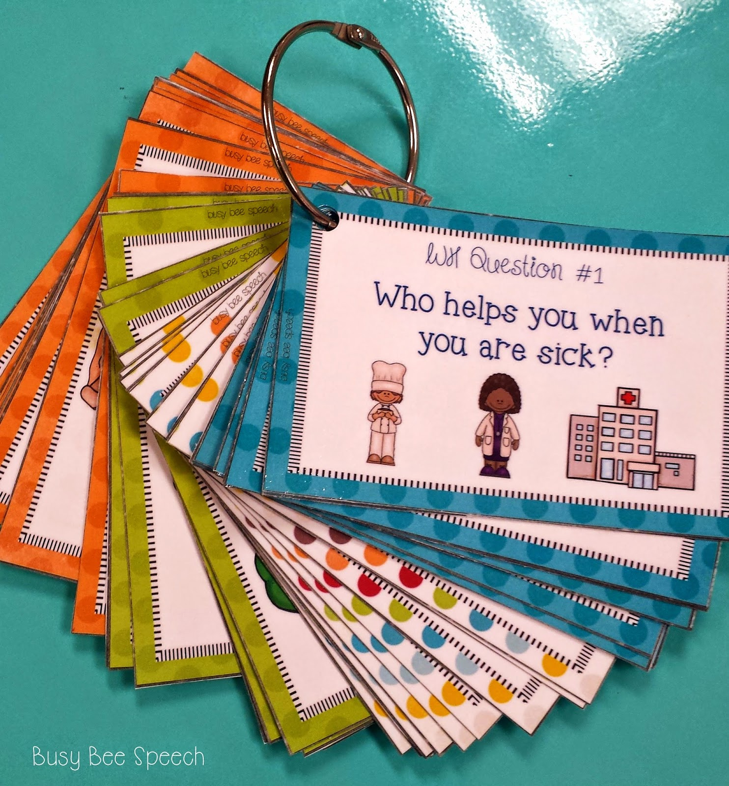 Busy Bee Speech: Common Core Task Cards For Speech Therapy