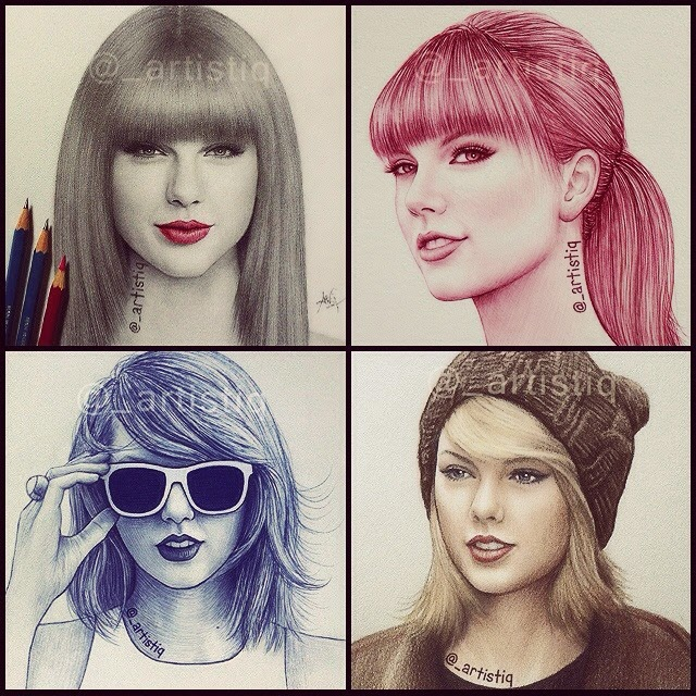 12-Taylor-Swift-Cas-_artistiq-Colored-Celebrity-and-Cartoon-Drawings-www-designstack-co