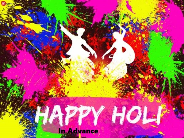 Happy Holi 2019 In Advance Images Wallpapers Pictures Photos