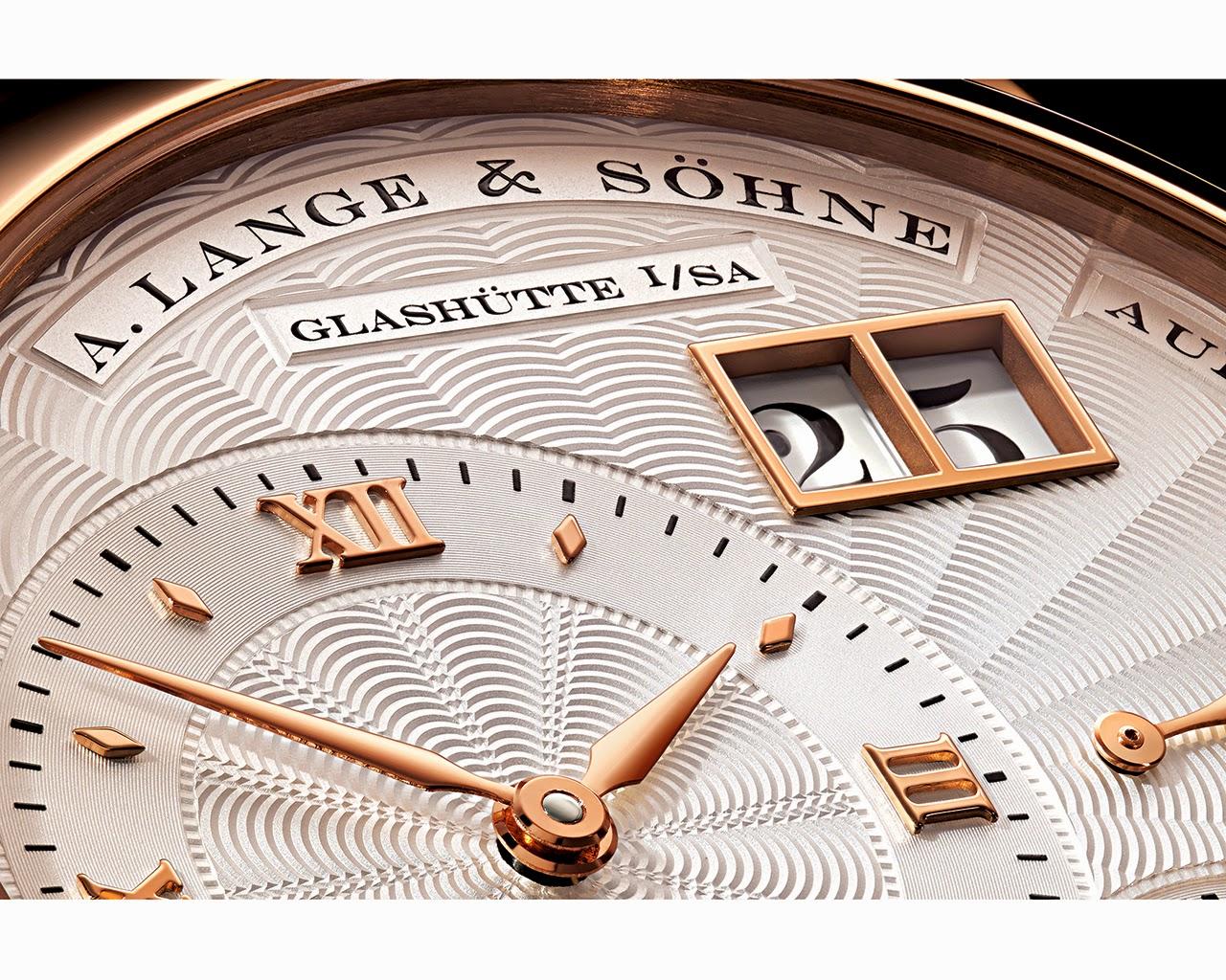 A. Lange & Söhne en W&W 2014