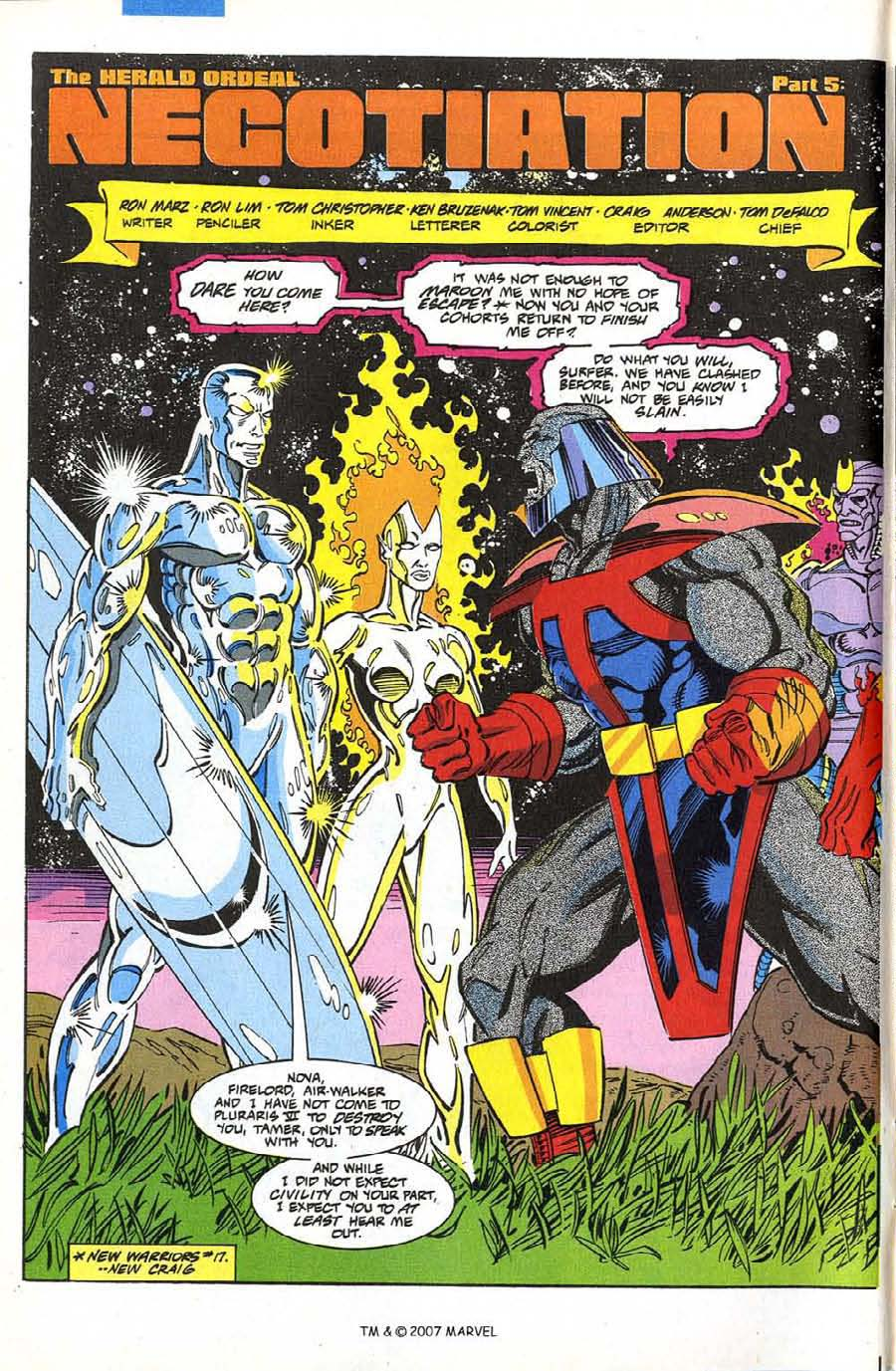 Read online Silver Surfer (1987) comic -  Issue #74 - 4