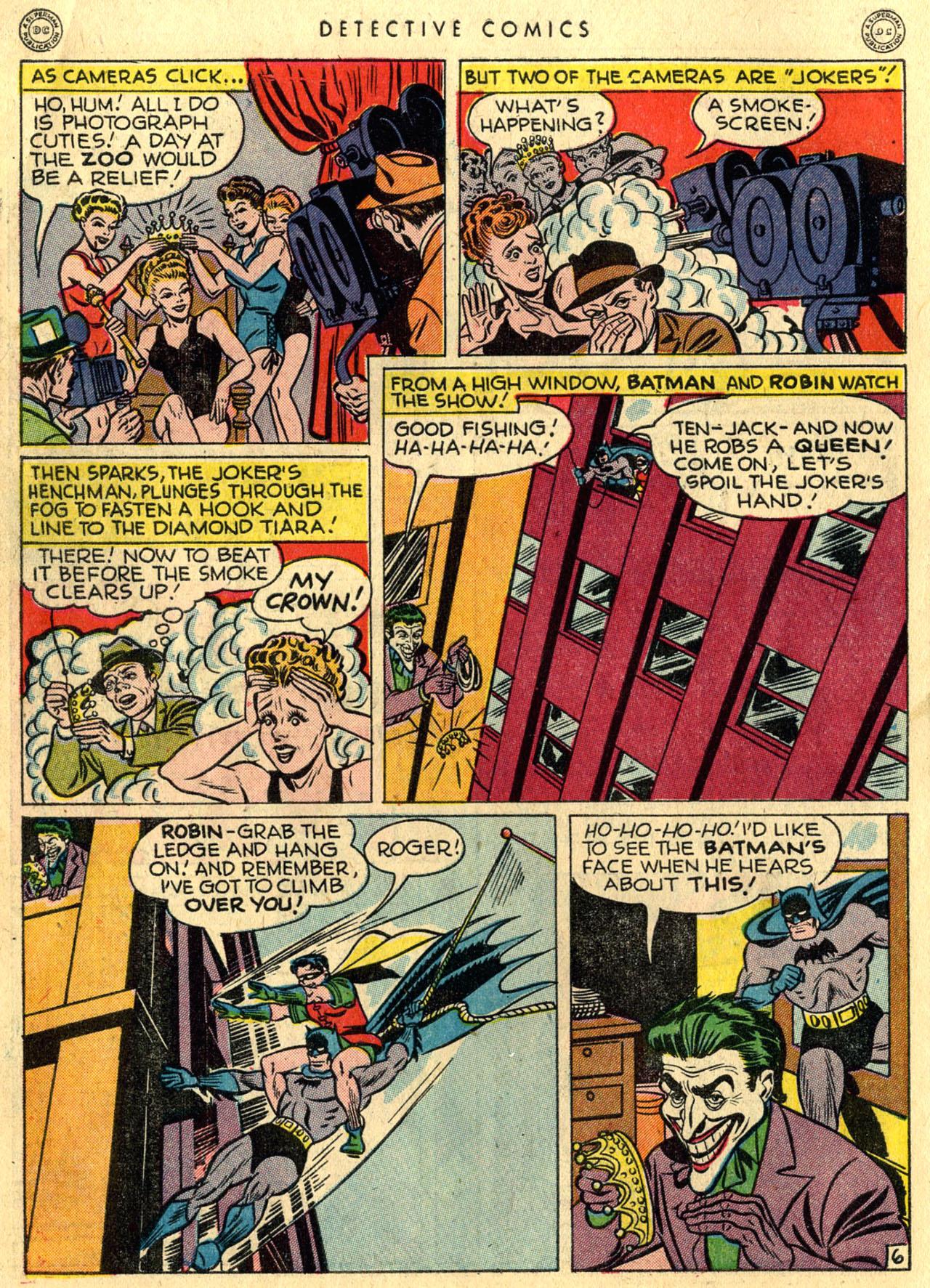 Read online Detective Comics (1937) comic -  Issue #118 - 8